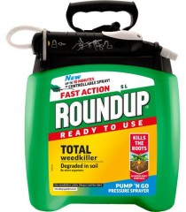 Roundup Ready To Use Pump N Go Weedkiller 5L