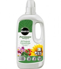 Miracle-Gro Performance Organics All-Purpose Concentrate - 1L