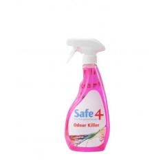 Safe4 Prediluted Odour Killer Trigger Spray - 500ml