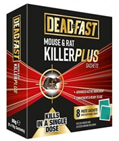 Deadfast Rat Killer Bait Station & 5 Blocks