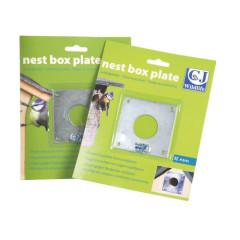 CJ Wildlife Nest Box Plate