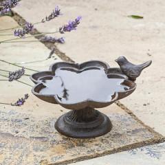 Jacobi Jayne Old Iron Buttercup Dish - water with birds
