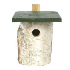 CJ Wildlife Birch Log Nest Box - 32mm