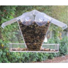 Chalet Window Bird Feeder