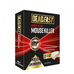 Deadfast Ready to Use Mouse Killer Bait Station Twin Pack