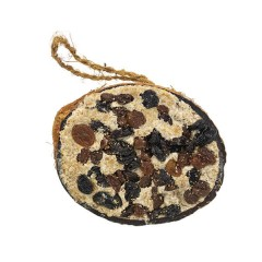 All Year Round Coconut Half Shell with Raisins