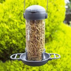 Henry Bell Essentials Wild Bird Suet Bites And Mealworm Feeder