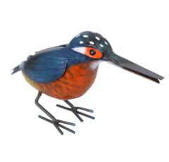 Kingfisher Metal Ornament