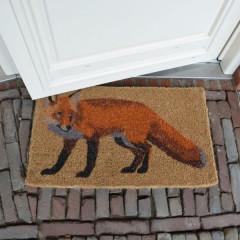 Fallen Fruits Coir Fox Doormat