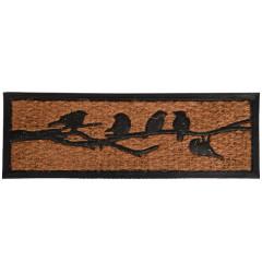 Fallen Fruits Rubber & Coir Bird Doormat