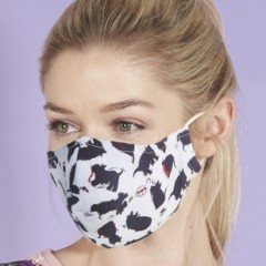 Eco Chic Face Mask - Scotty Dogs