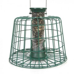 CJ Wildlife Squirrel Resistant Seed Feeder with Guardian